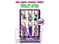 $.55 MINOR HANGING PRIZE KIT - 288 PCS
