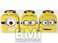 DESPICABLE ME HEAD SHAPED LUNCH TIN