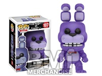 FIVE NIGHTS AT FREDDY'S - BONNIE POP VINYL - STRAPPED