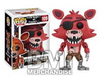 FIVE NIGHTS AT FREDDY'S - FOXY THE PIRATE POP VINYL - STRAPPED
