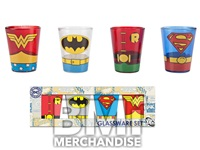 SUPER HERO SHOT GLASSES