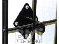 WALL MOUNT BRAKETS FOR GRIDWALL- BLACK