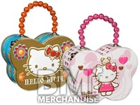 HELLO KITTY BUTTERFLY TIN CARRY ALL
