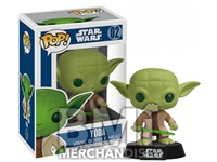STAR WARS YODA BOBBLE HEAD - STRAPPED