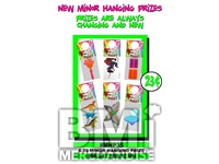$.23 MINOR HANGING PRIZE KIT - 288 PCS
