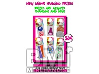$.35 MINOR HANGING PRIZE KIT - 288 PCS