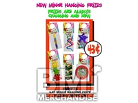 $.43 MINOR HANGING PRIZE KIT - 288 PCS