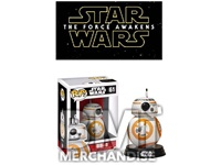 STAR WARS EP7 BB8 POP BOBBLEHEAD - STRAPPED