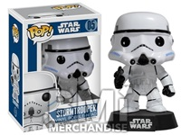 STAR WARS STORMTROOPER POP BOBBLE HEAD - STRAPPED