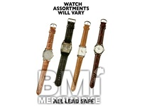 MEN'S LEATHER WATCH ASSORTMENT